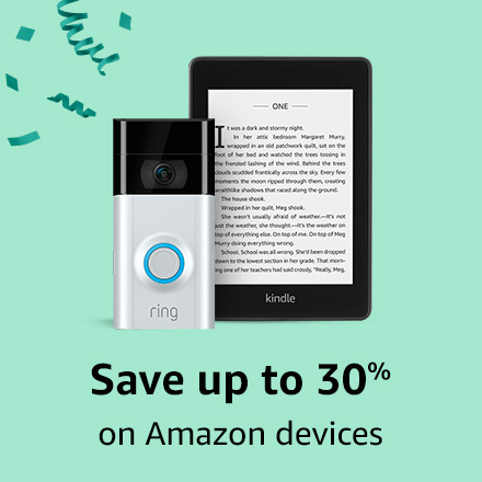 Save up to 30% on Amazon devices