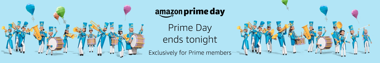 Prime Day ends tonight