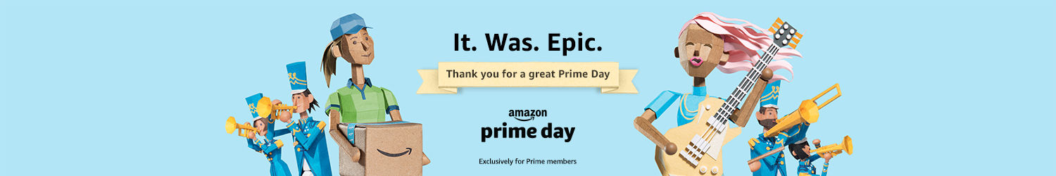 Thank you for a great Prime Day