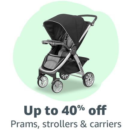 Prams, strollers, carriers