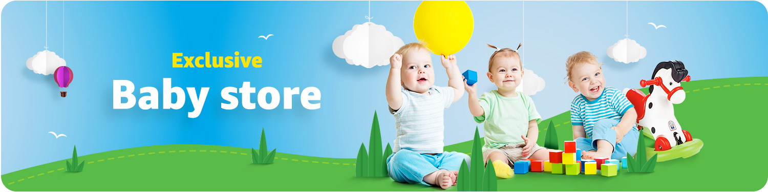 Exclusive baby store