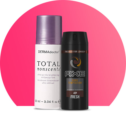 Deodorants & anti-perspirants