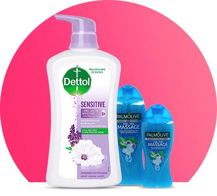 Soaps & shower gels
