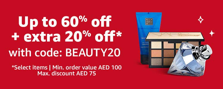 Extra 20% off | Coupon:  BEAUTY20