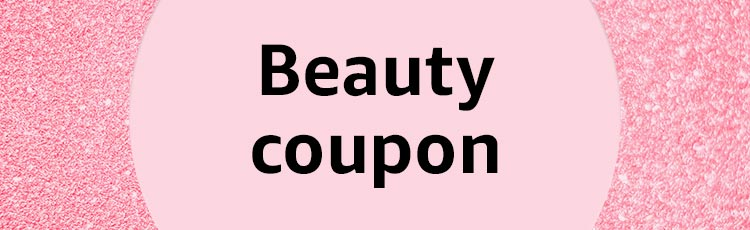 Beauty coupon