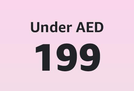 Under AED 199