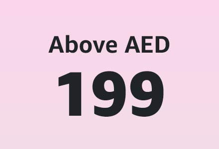 Above AED 199