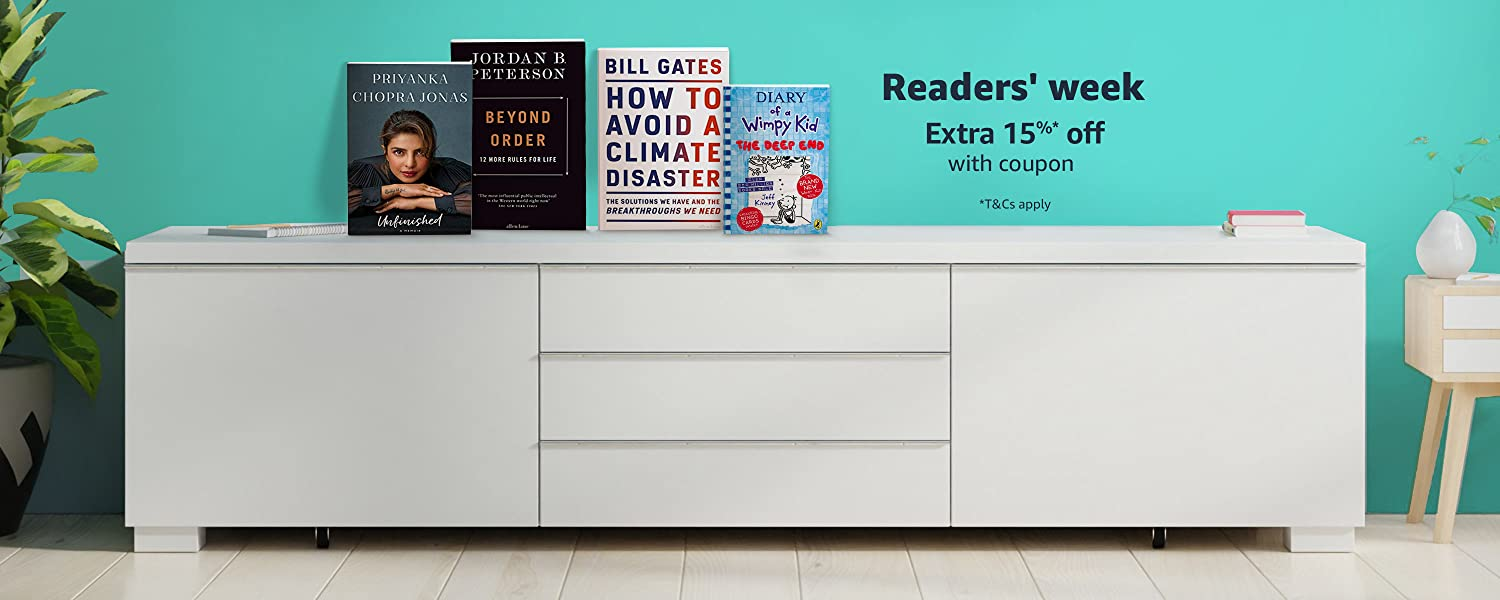 Readers' week | Extra 15% off books