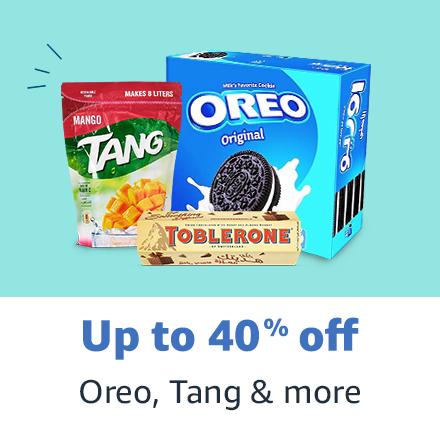 Oreo, Tang & more