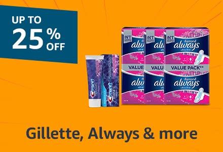 Gillette, Always & more