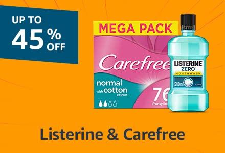Listerine & Carefree