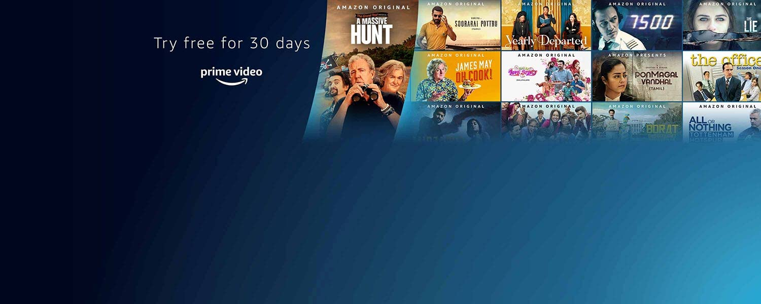 Try free for 30 days. Prime Video. Restrictions apply.