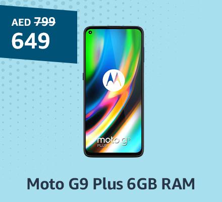 Moto G9 Plus 6GB RAM