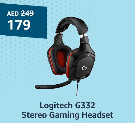 Logitech G332 Stereo Gaming Headset