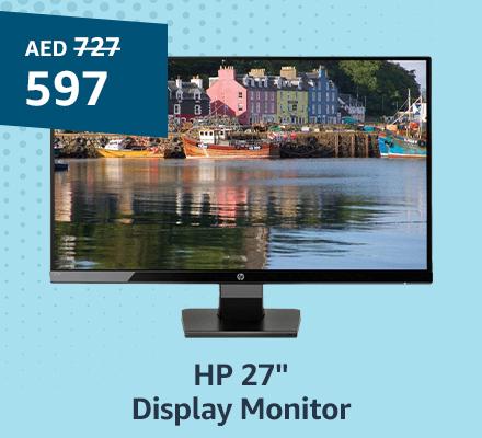 """HP 27"""" Display Monitor"""