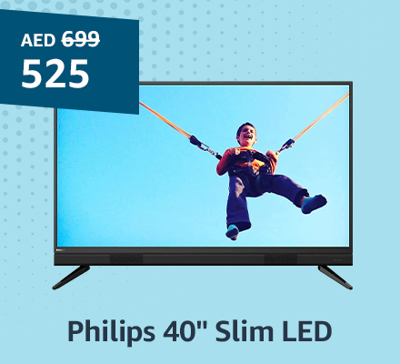 "Philips 40"" Slim LED"