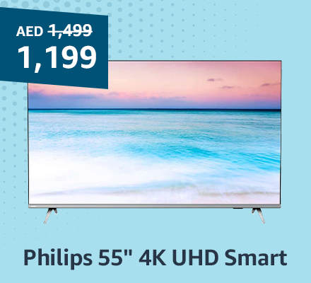 "Philips 55"" 4K UHD Smart"