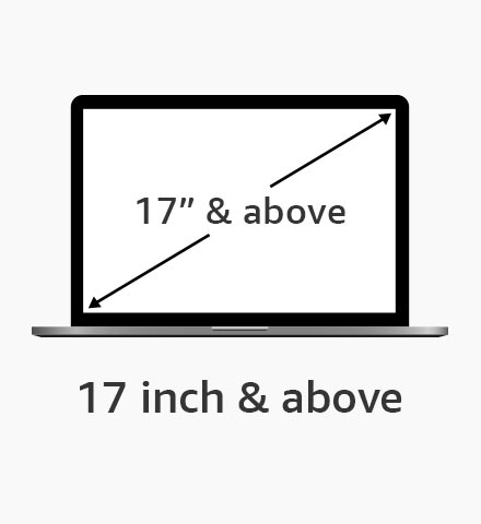 "17"" and above"