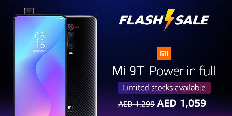 Amazon ae: Mi 9T Flash Sale: Electronics