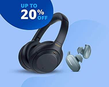 Audio | Up to 20% off