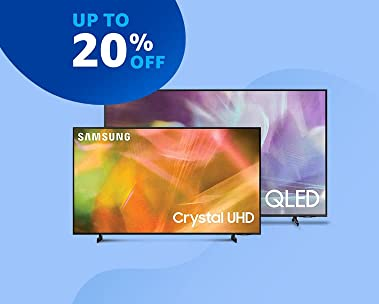 TVs | Up to 20% off