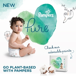 Pampers Pure Diapers