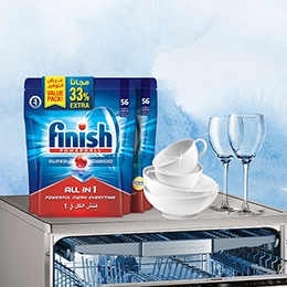 Finish - Save big! Get 33% extra value