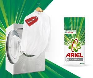 Ariel - Clean like new in 1 wash