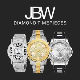 JBW diamond timepieces