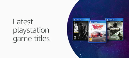 Latest Playstation game titles