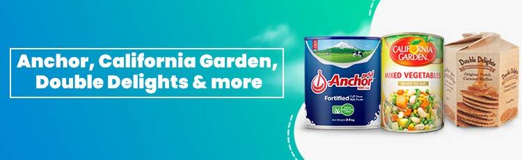 California Gardens, Anchor Milk, Double Delights