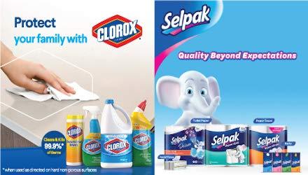 Clorox & Selpak