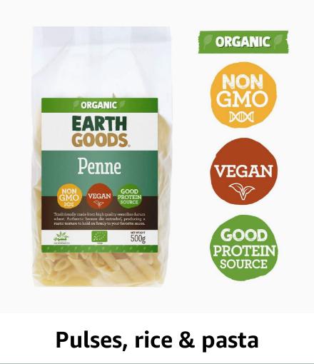 Pulses, Rice & Pasta