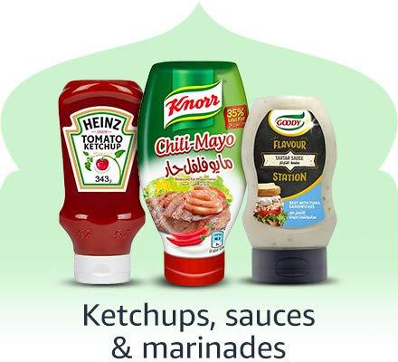 Ketchup, sauces & marinades