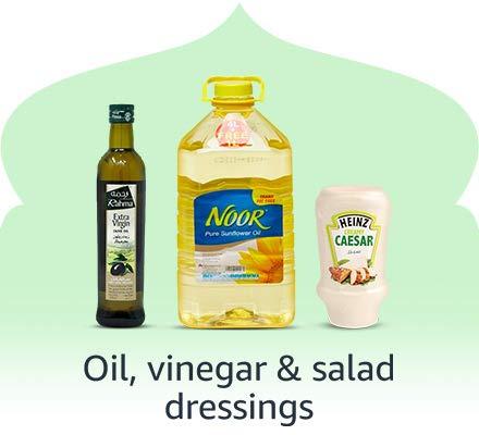 Oil, vinegar & salad dressing