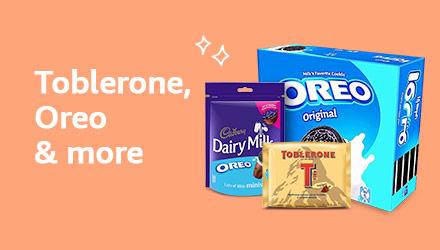 Toblerone, Oreo & more