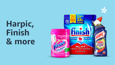 Harpic, Vanish, Air Wick, Finish and Pif Paf