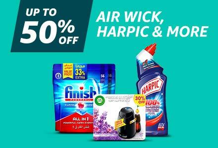 Air Wick, Harpic & more
