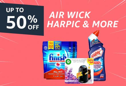 Air Wick, Harpic & more