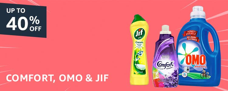 Omo, Comfort & Jif