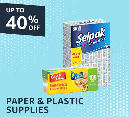 Paper & plastic supplies
