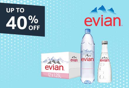 Evian   Volvic