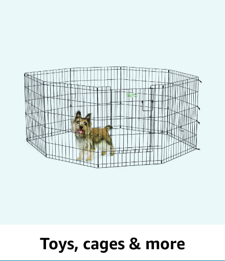 Toys, cages & more
