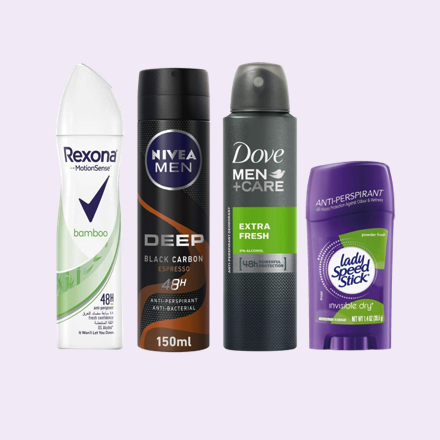 Deodorants & Antiperspirants
