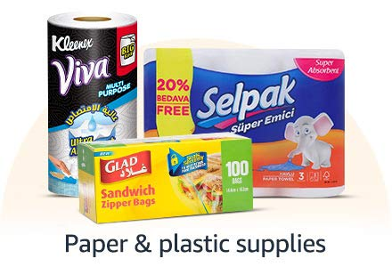 Paper & plastic supplies