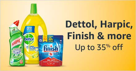 Dettol, Harpic, Finish and more