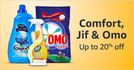 Comfort, Jif & Omo
