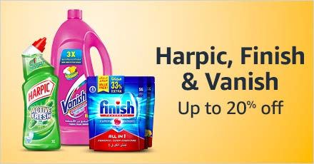 Harpic, Finish & Vanish