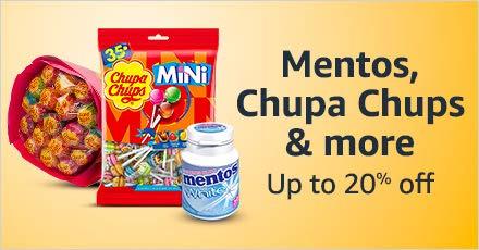 Mentos , Chupa Chups & more