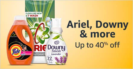 Ariel , Downy & more